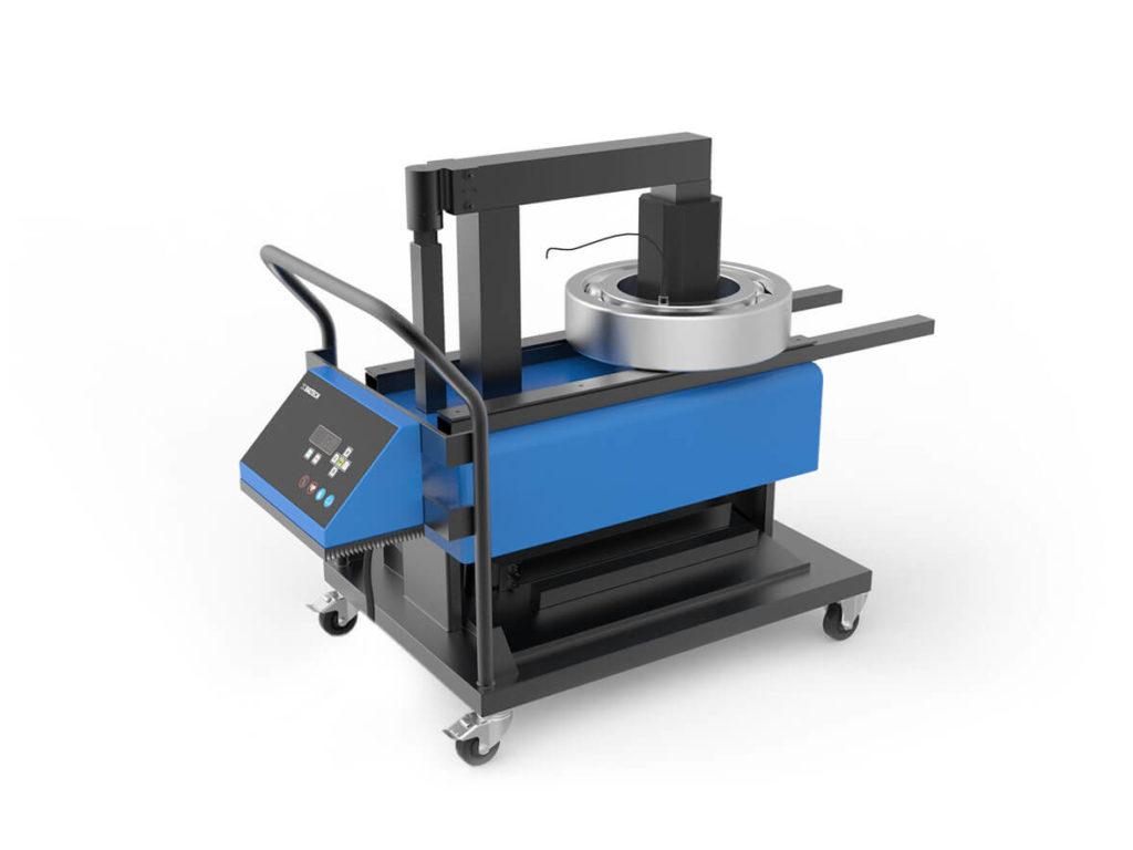 Профессиональный индукционный нагреватель для нагрева деталей весом до 600 кг BALTECH-HI-1670