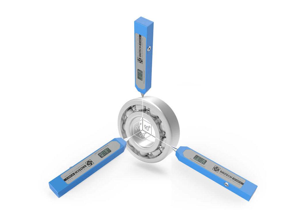 Виброручка (виброперемещение, виброскорость, виброускорение) BALTECH VP-3407-1-2-3
