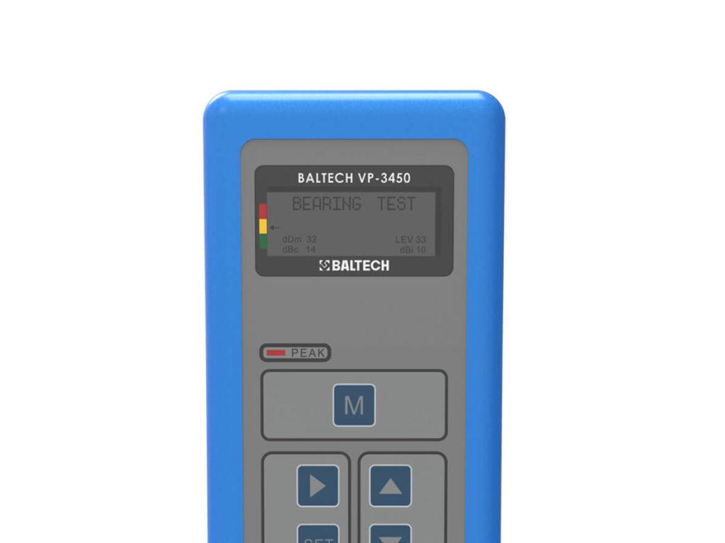 Тестер ударных импульсов подшипников BALTECH-VP-3450