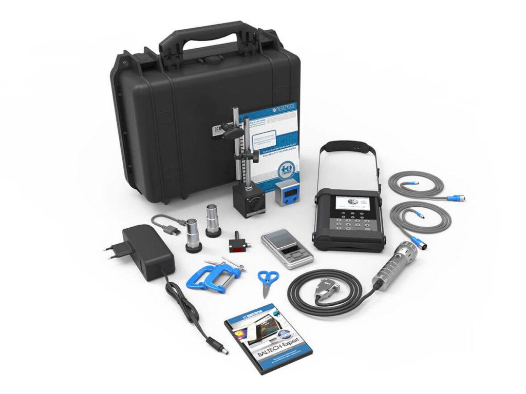 Универсальный виброанализатор для вибродиагностики и балансировки BALTECH-VP-3470