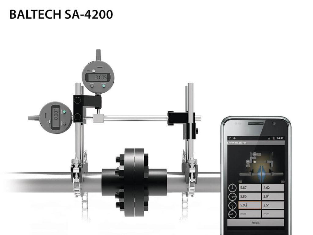 Индикаторные системы центровки валов BALTECH SA - 4200