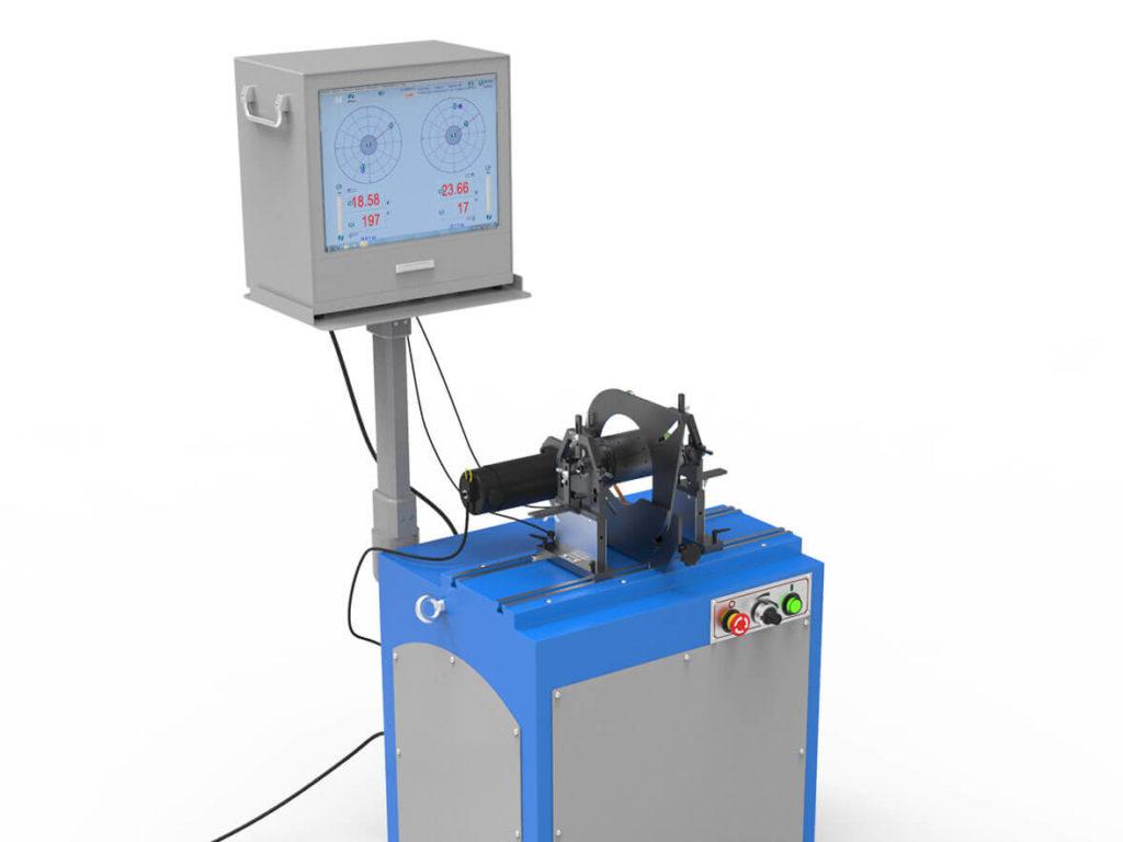 Высокопроизводительные горизонтальные балансировочные станки дорезонансного типа BALTECH-HBM-7100