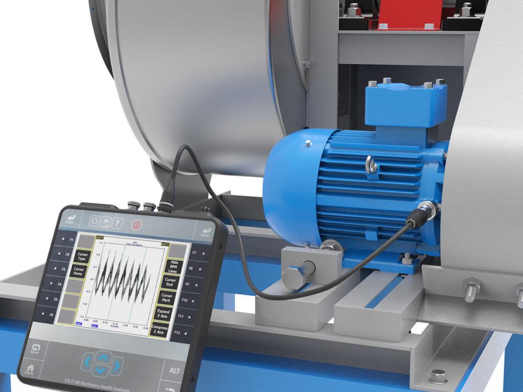 Лучший виброанализатор для экспресс-диагностики промышленного оборудования CSI-2140