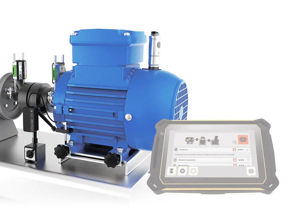 Беспроводная система центровки и вибродиагностики RT-300
