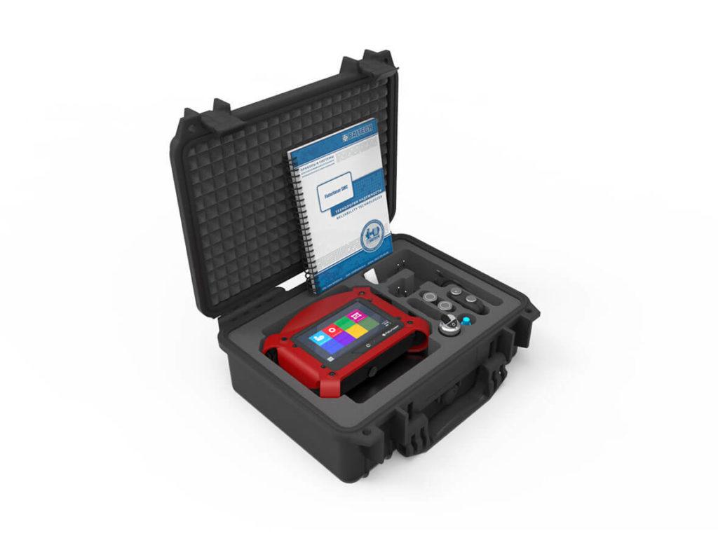 Виброанализатор с беспроводным 3-координатным датчиком вибрации Fixturlaser SMC