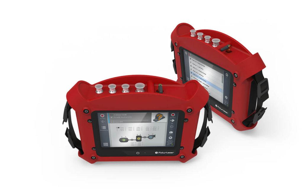 Виброанализатор с беспроводным 3-координатным датчиком вибрации Fixturlaser-SMC