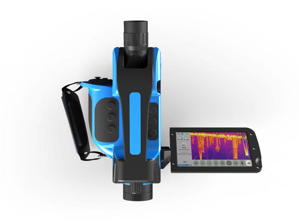 Профессиональный тепловизор нового поколения со встроенной камерой TR-0170