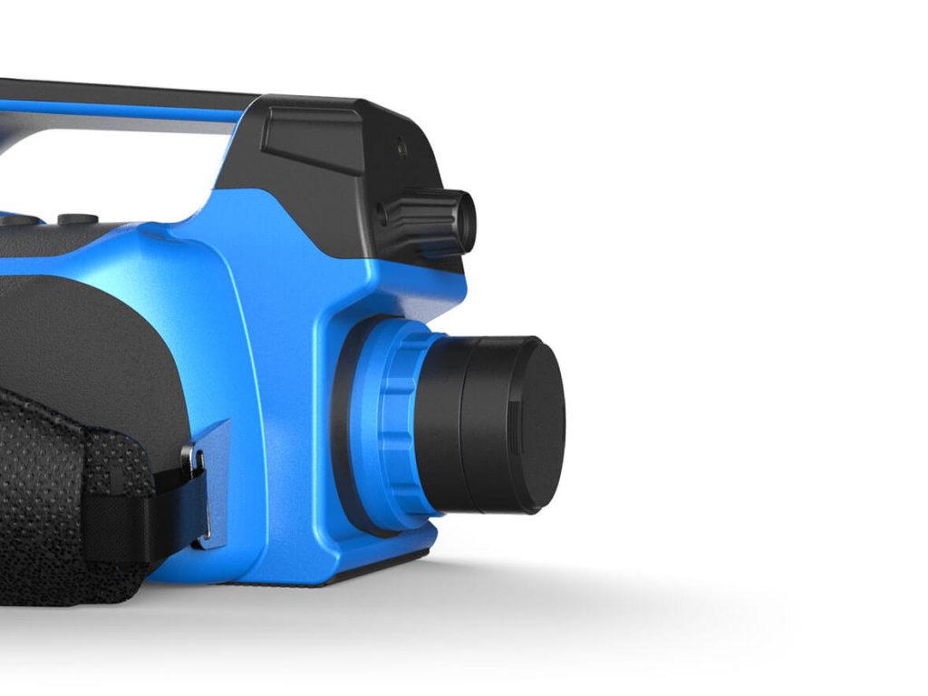 Профессиональный тепловизор нового поколения со встроенной камерой BALTECH-TR-0170