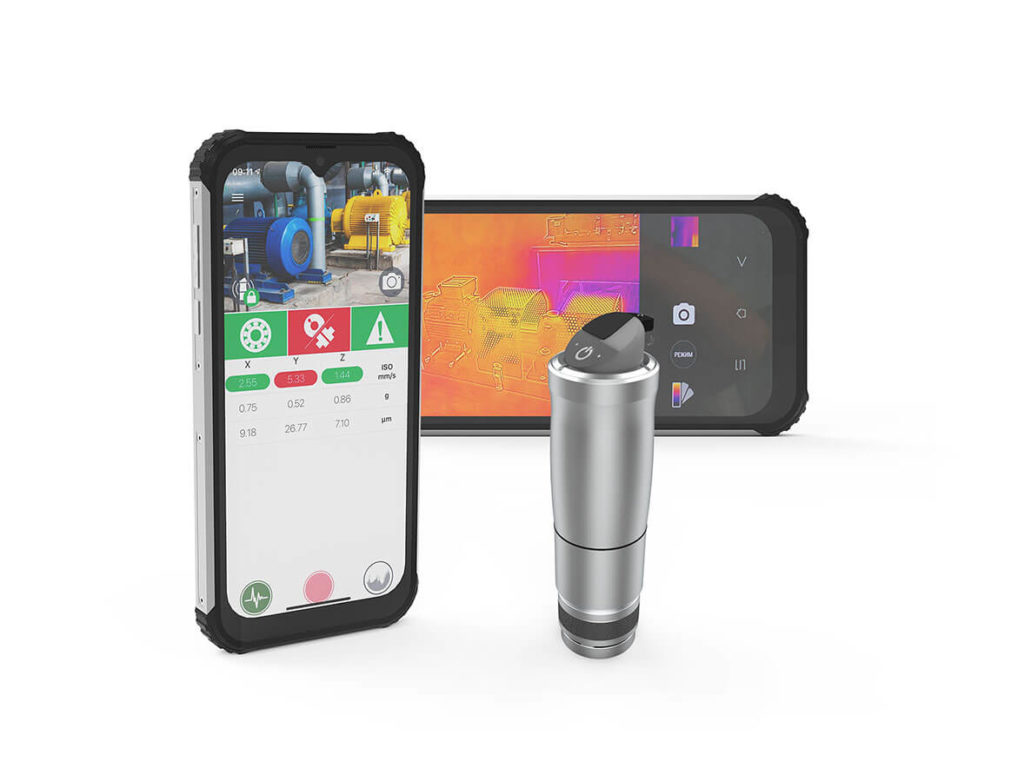 Беспроводная система вибродиагностики и контроля температуры (мобильный ТОиР) BALTECH-VP-3420