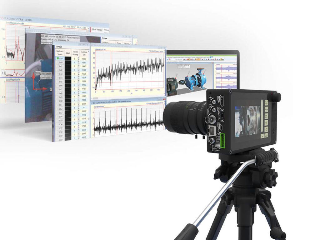 Первая в мире бесконтактная система визуализации колебаний VibroViewer